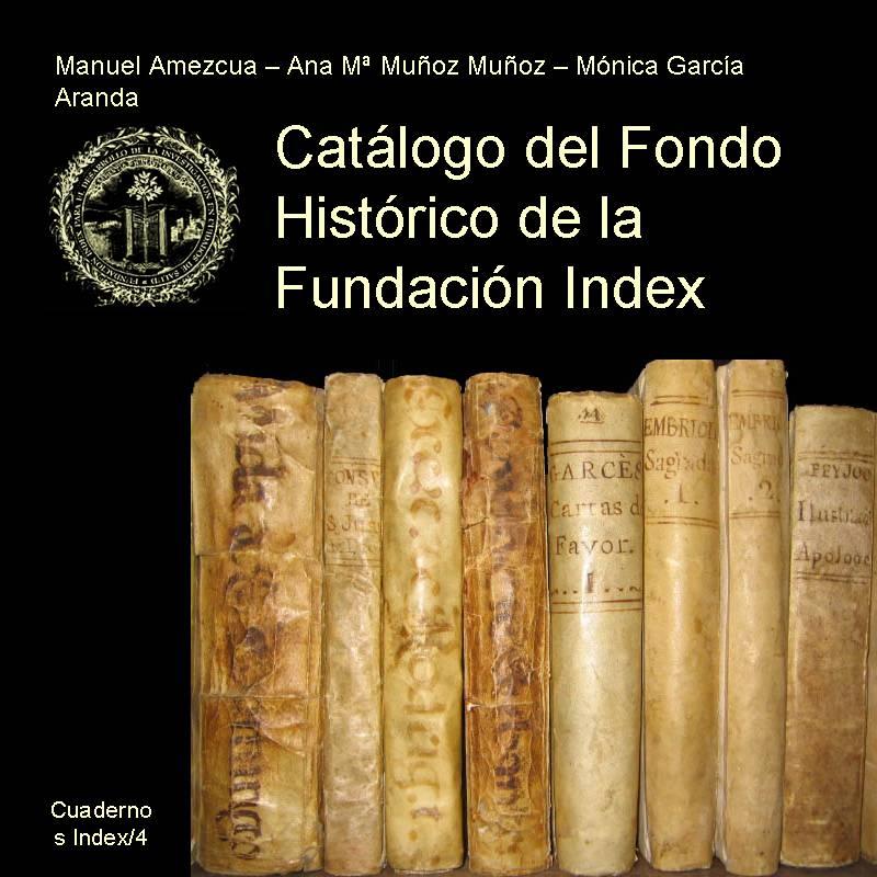 Catálogo del Fondo Histórico de la Fundación Index